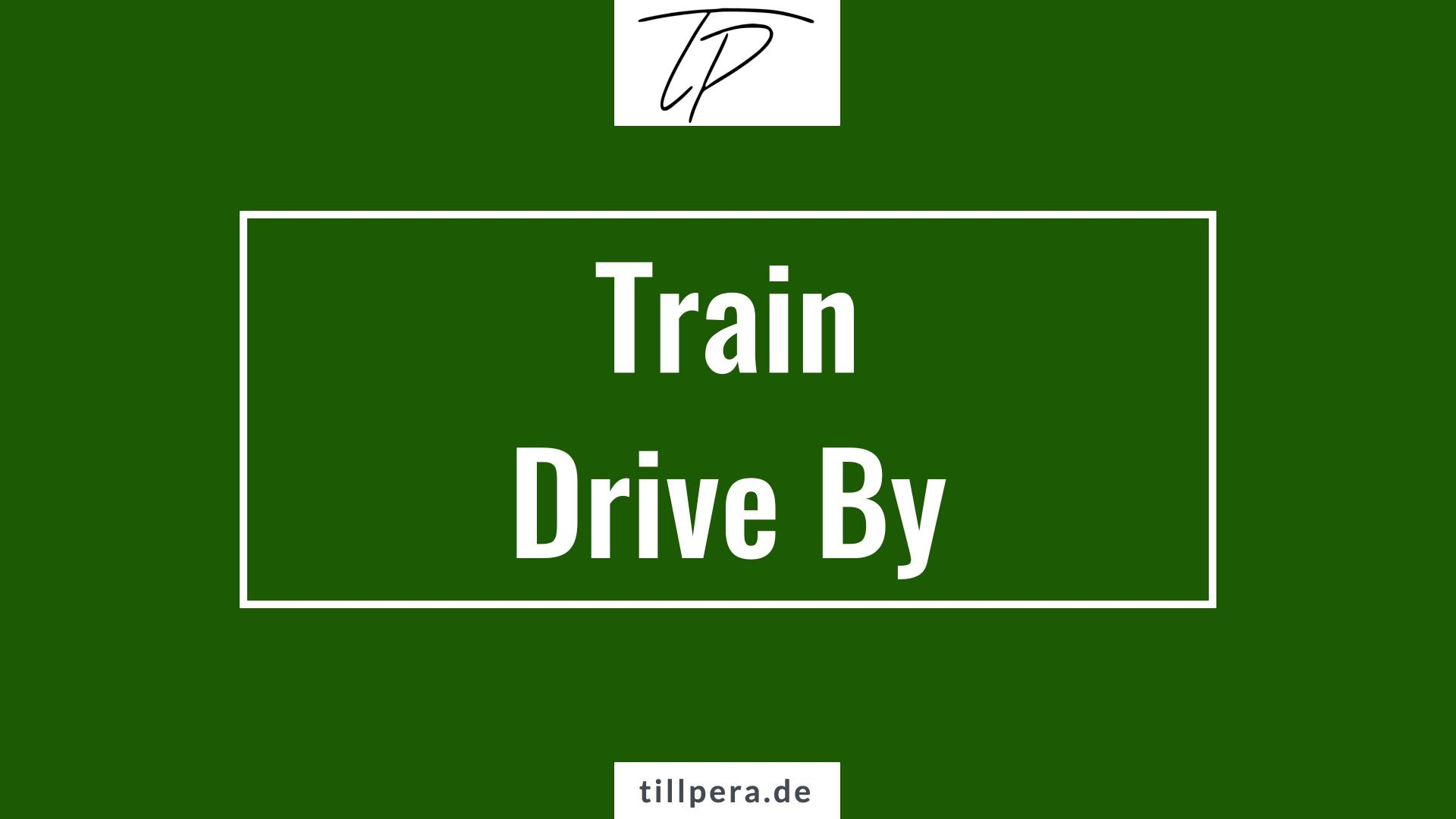 Lerne Gitarre - How To Play: Drive By - Train - tillpera.de
