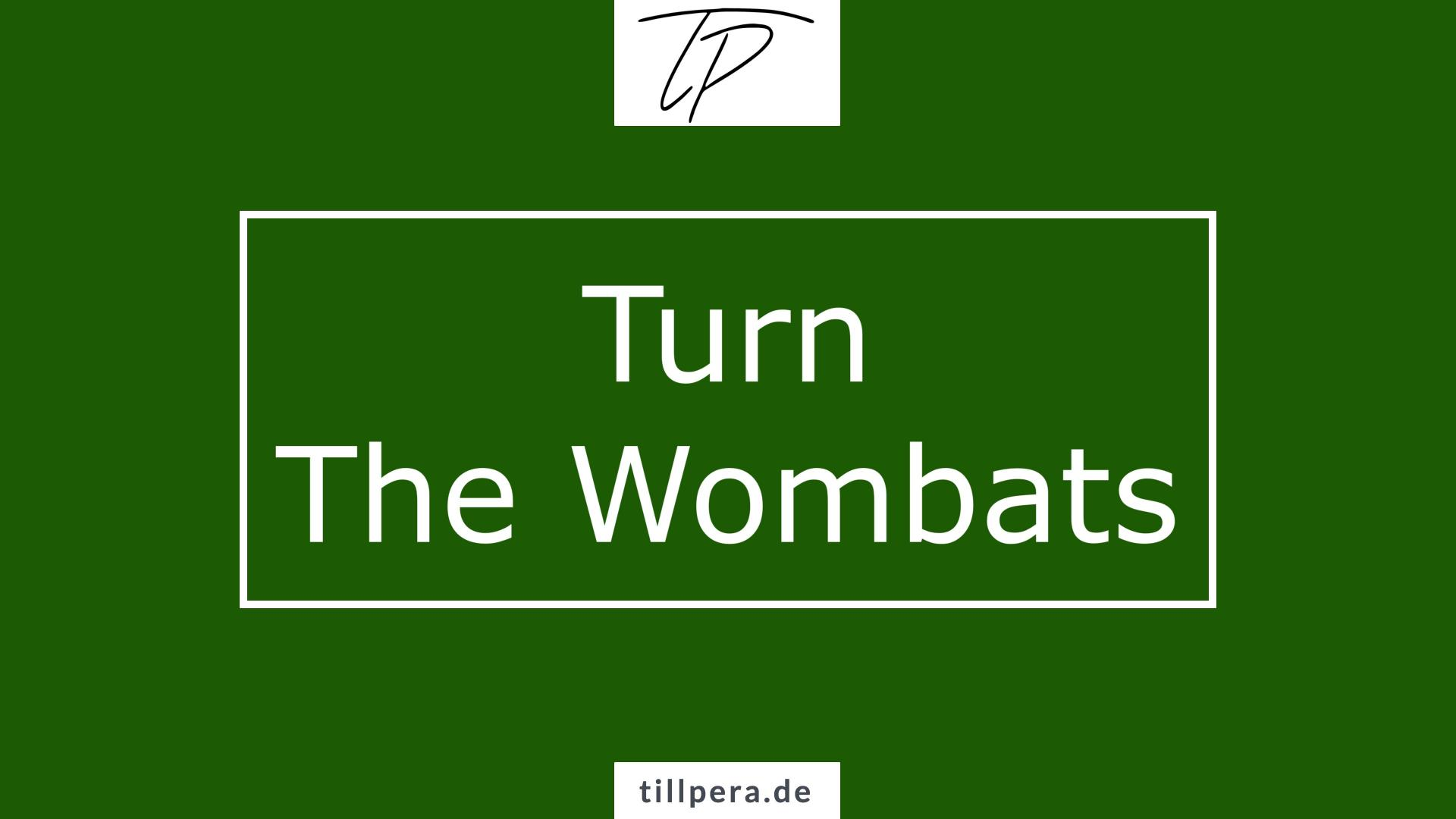 Titelbild Turn The Wombats